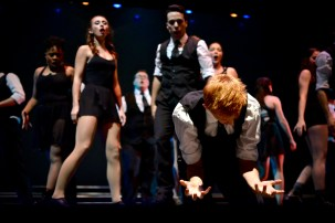 "CWU Theatre Ensemble in ""21 Guns"" performance"