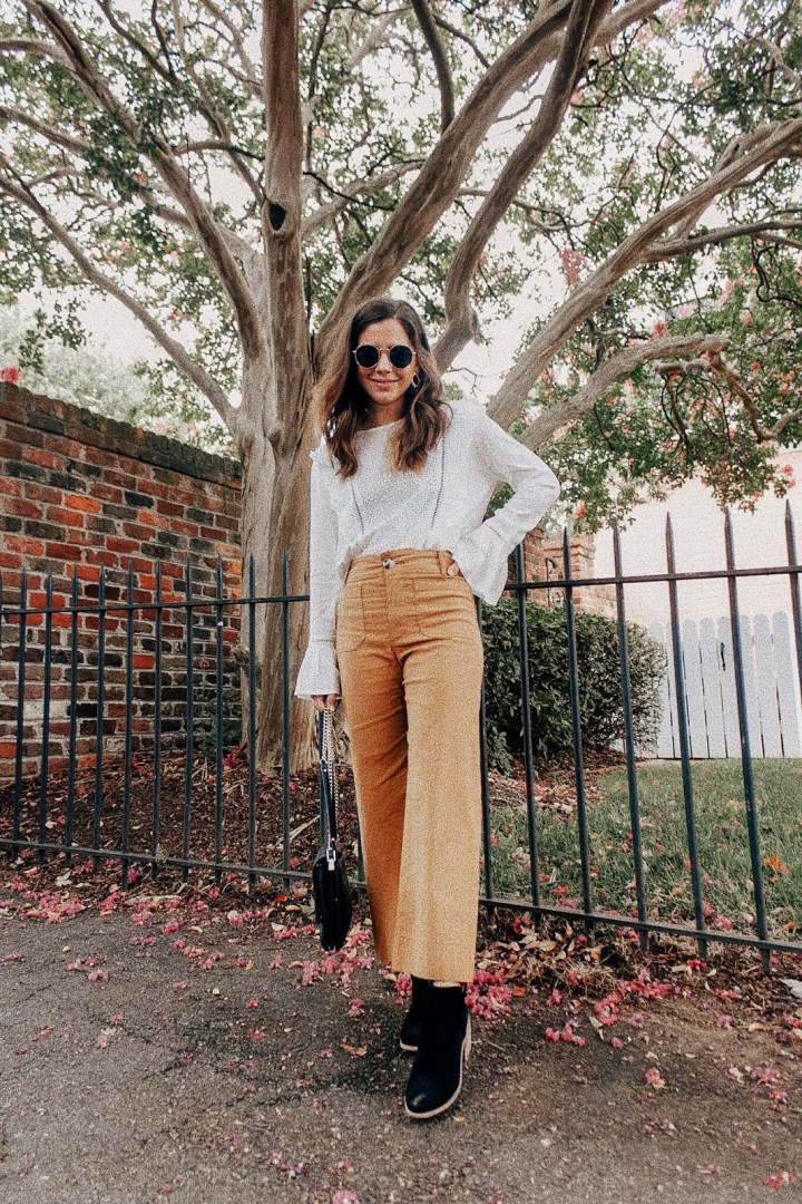Wide Leg Pant Looks for Fall