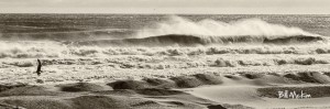 Belmar Winter surf scene 2013