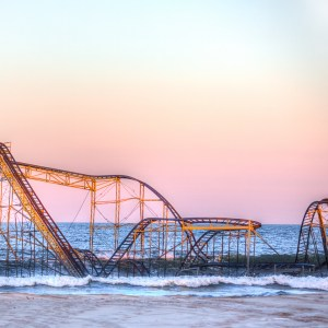 Seaside heights jetstar photograph