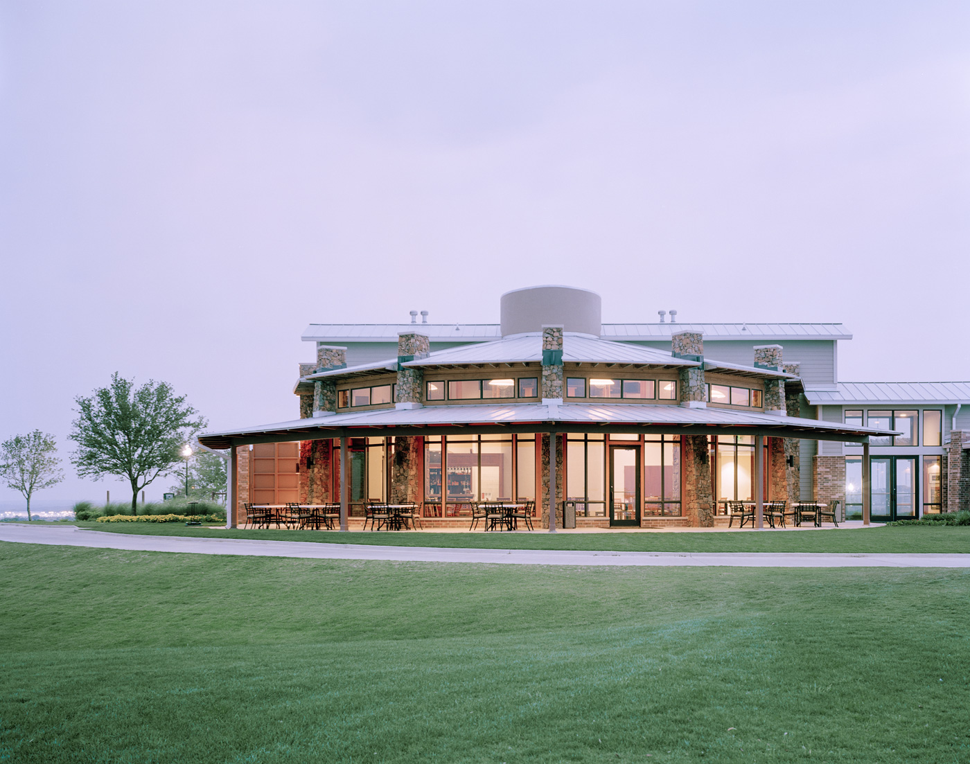 Teravista Golf Course Clubhouse McKinney York Architects