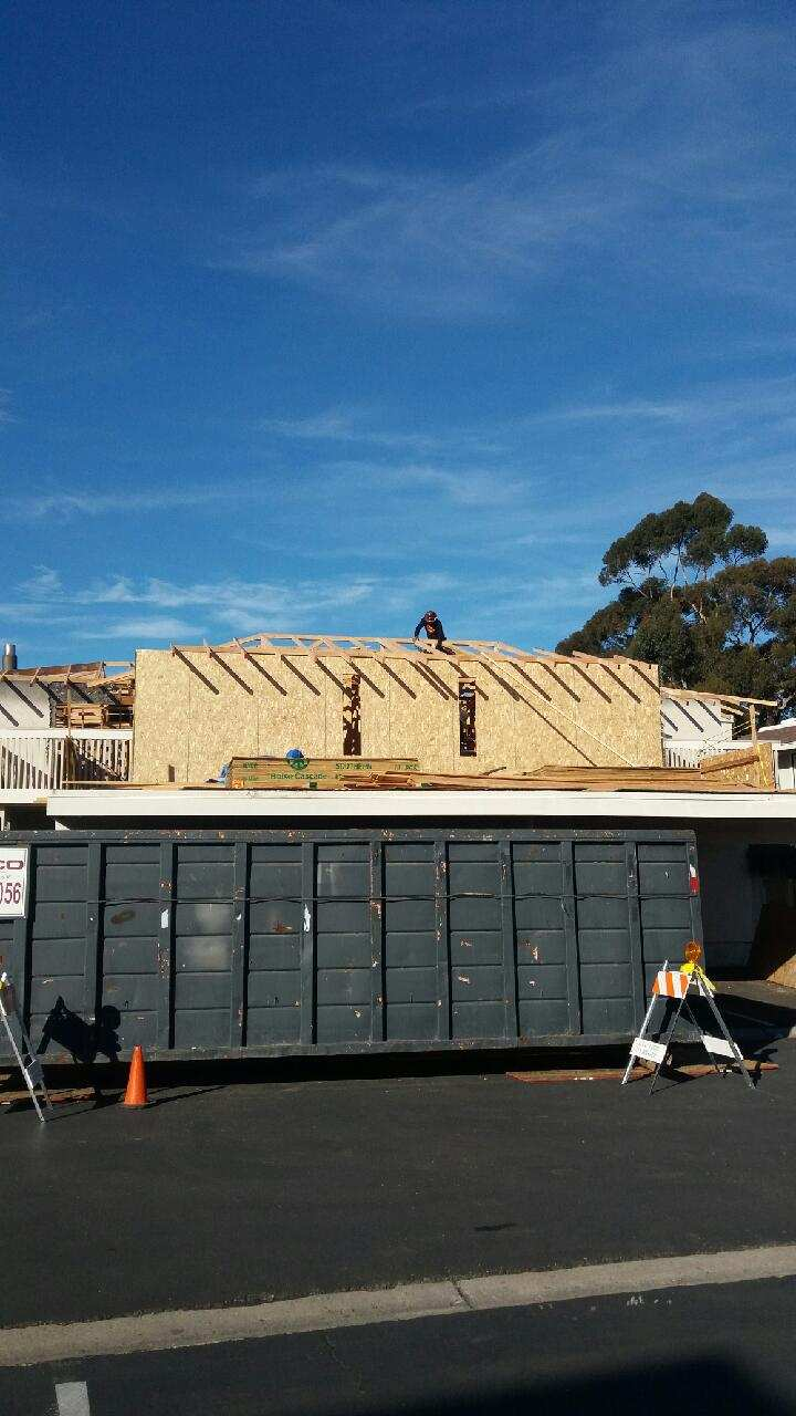 Construction Services in San Diego rebuild after fire