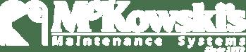 mckowski's white logo