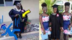 49 Y/O earns DEGREE after DROPPING out of SCHOOL at Age 15