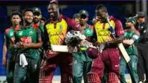 West Indies Take One Nil Lead in T20 Series Against Bangladesh