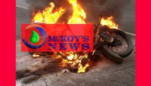 Accused Murderer Killed and Set Ablaze on Motorcycle in St Mary