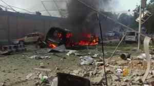 Afghanistan Bomb Blast Kills 90 People