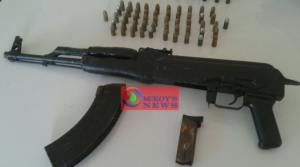 AK-47 Assault Rifle and Ammunition Seized in Trelawny