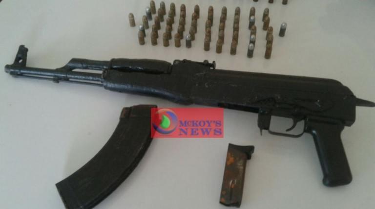 AK-47 RIFLE SEIZED IN NORWOOD