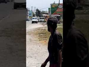 Video: Alleged Gunmen and Police in Shootout, Police Shot in Spanish Town