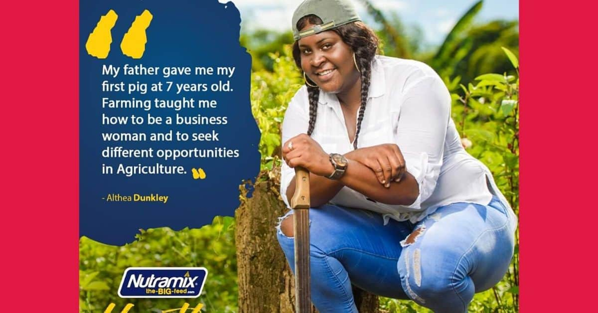Althea Dunkley - Youth in Agriculture