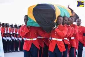 Most Hon. Edward Seaga's Body Arrives