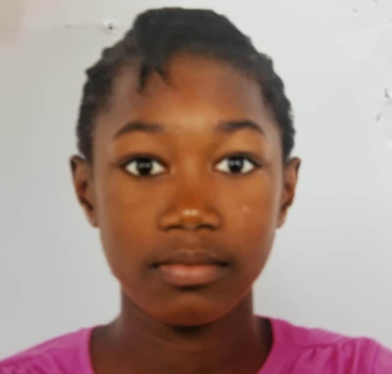 Ashanti Hinds, 14, from Kingston Missing