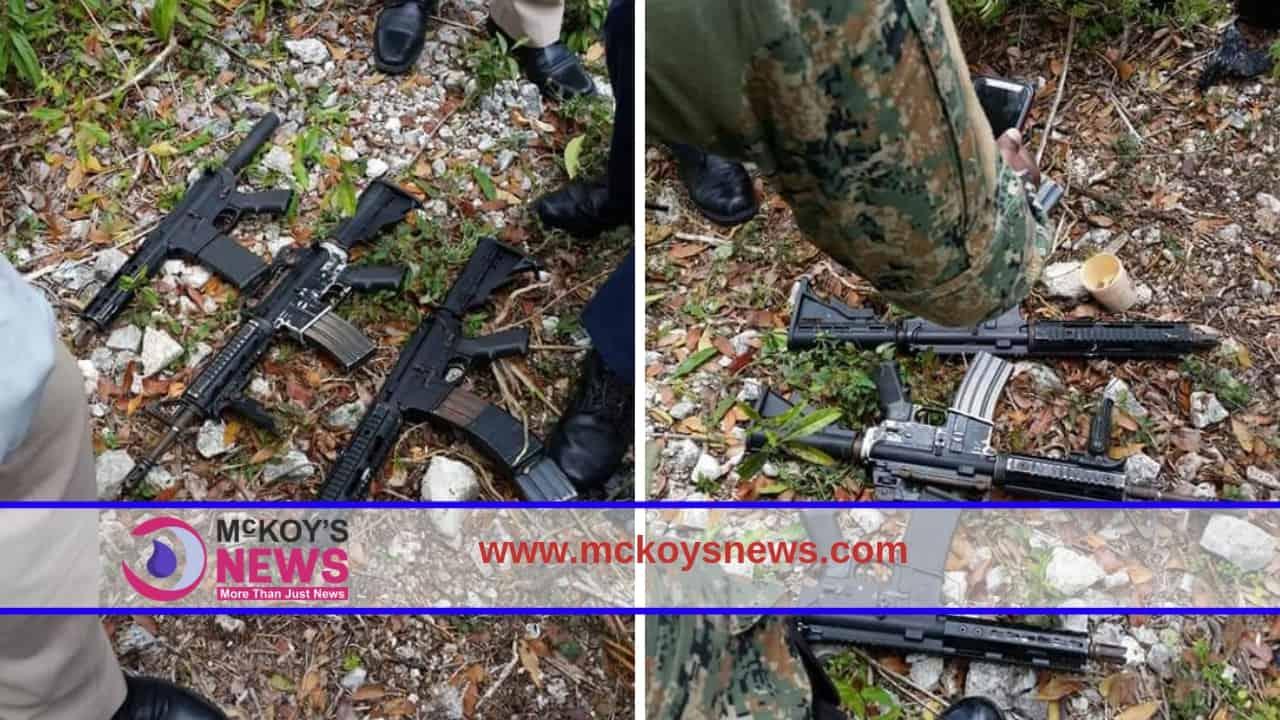 Assault Rifles Seized