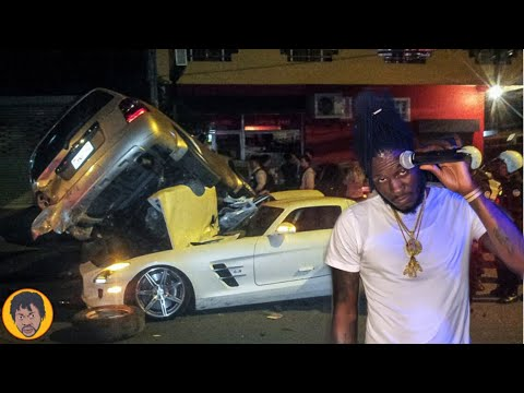 BREAKING-NEWS-Aidonia-CRASH-In-His-Car-Dem-MASH-Up-Di-Youth-Allagedly