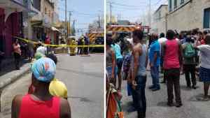 Million Dollar Fire Destroy Sections of Furniture and Appliance Store, in Downtown Montego Bay