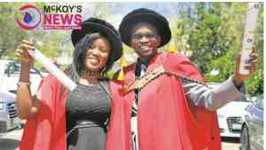 Beautiful Couple Go Viral After Graduating Together With PhDs