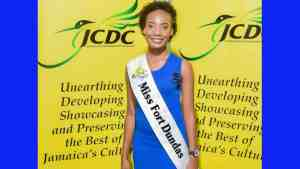 Britney Ingram will Win the Miss Trelawny Festival Queen Competition
