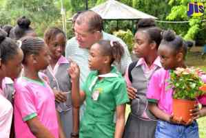 PHOTOS: Minister Shaw Attends Castleton Expo St Mary