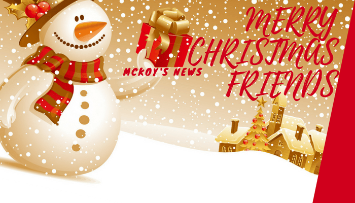 Mckoy's News Christmas Wishes