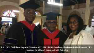 Cica Univeristy & Seminary Holds Grad Service in Jamaica