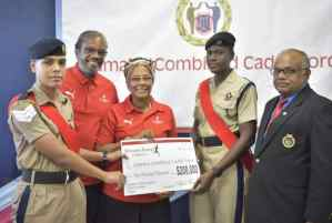 JCCF Receives $200,000 from Running Events Jamaica Limited