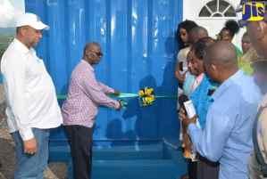 Two Water Shops Open in St. Elizabeth