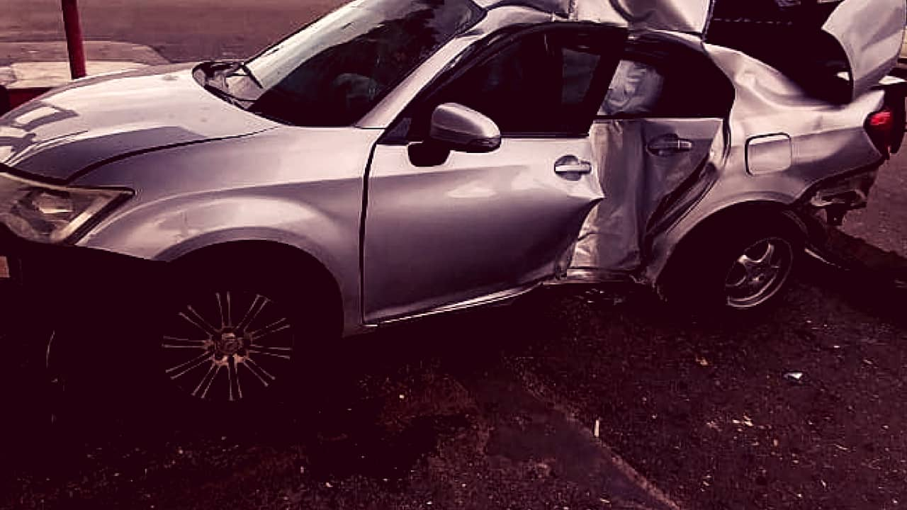Cons. Damian Hibbert was Involved in a Serious Motor Vehicle Accident in Clarendon