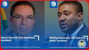 Daryl Vaz and Phillip Paulwell's AMERICAN VISAS revoked