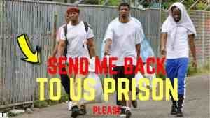 Deportee prefer PRISON in America, than FREEDOM in Jamaica