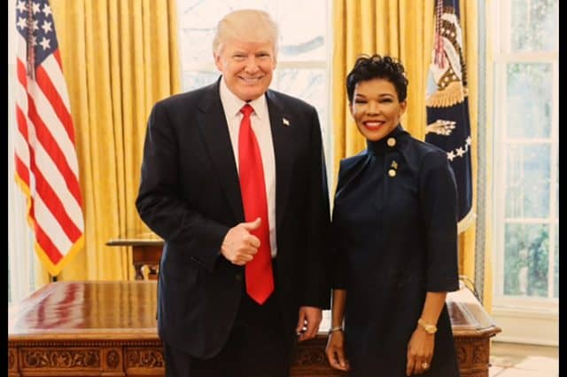 Audrey Marks and Trump - Andrew Holness