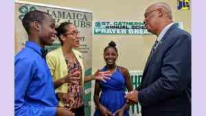 Needy Students in St. Catherine Awarded Scholarships