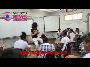 Video: DyDy at Innswood High School
