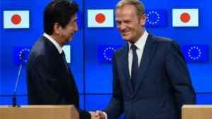 EU and Japan Reach Free Trade Deal