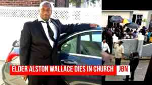 Elder Alston Wallace Collapse And Dies In Church After Altar Call