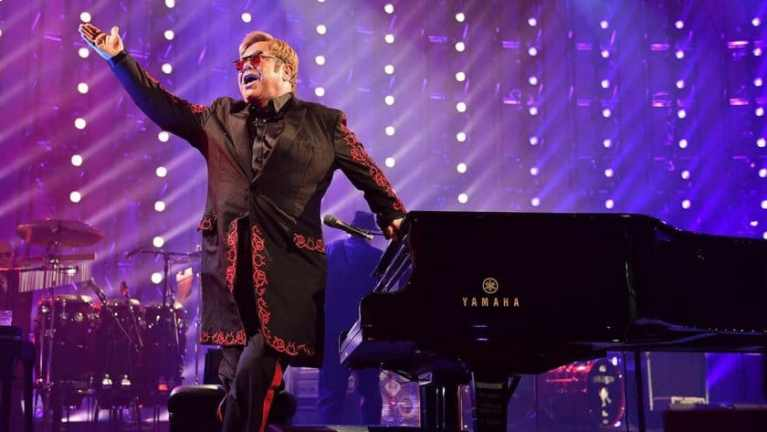 Elton John slams reports on Meghan Markle and Prince Harry's private jet trip