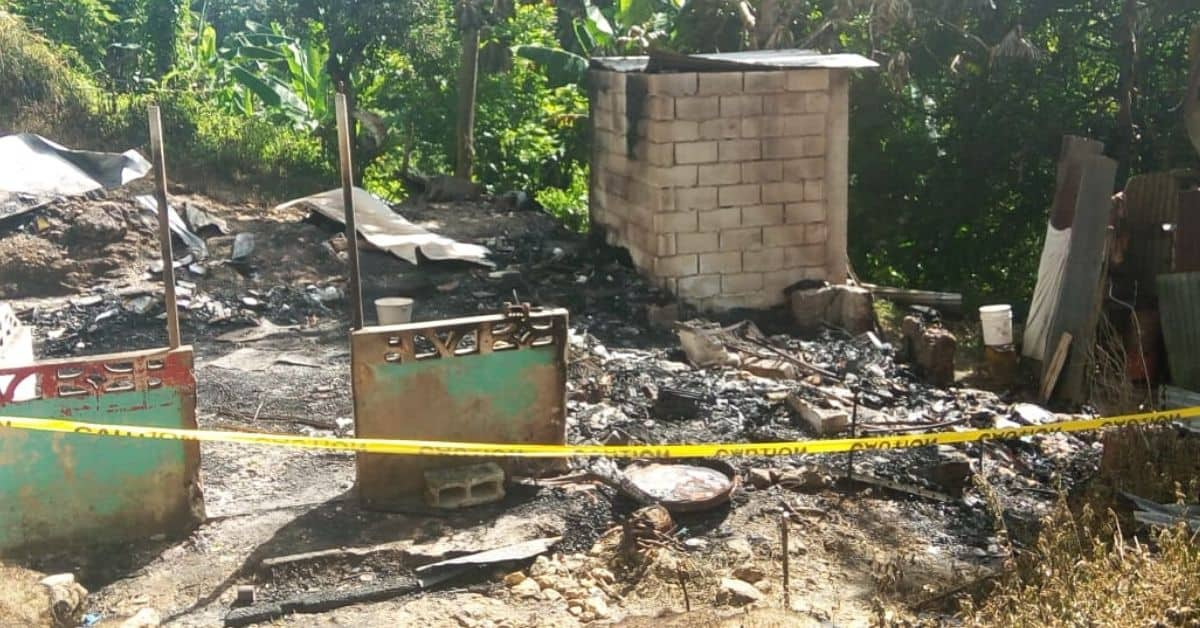 Man who Attempt to Burn Daughter and Son Alive, Perish in Fire