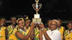 Excelsior High School are Netball Champions of the Caribbean