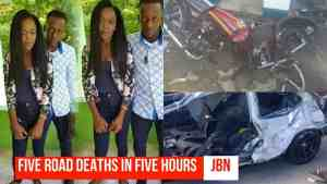 Five Road Deaths In Five Hours