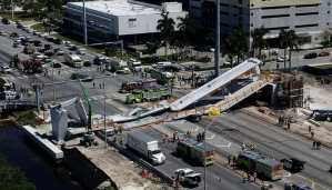Several killed, Cars Crushed in Florida Foot Bridge Collapse