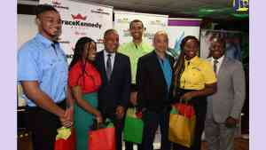 Four Diaspora Students for Internship Programme Offered By Gracekennedy