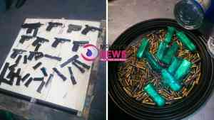 16 More Firearms and Ammunition Seized at Kingston Wharf