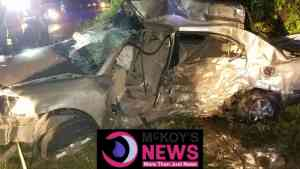 Deadly Accident: 5 dead as SUV chased by Police