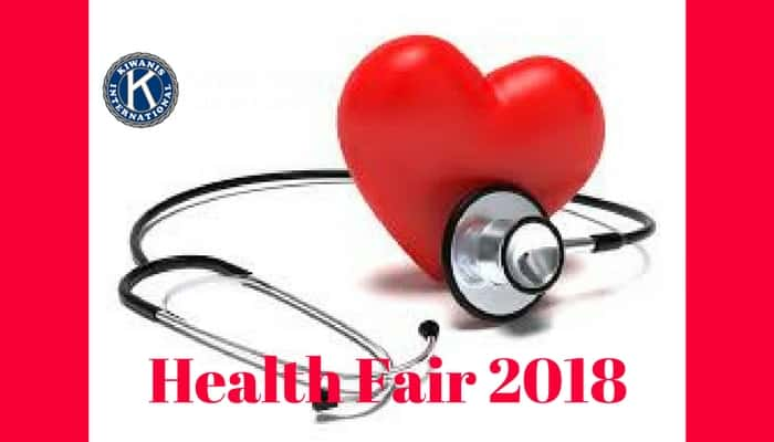 Clubs Host Health Fair 2018