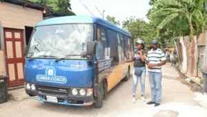 Richard Vernon Brings Heart NTA Bus to Gully