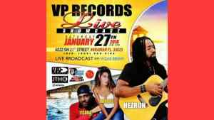 Miami: Hezron Performs at VP Records Live Showcase Tonight