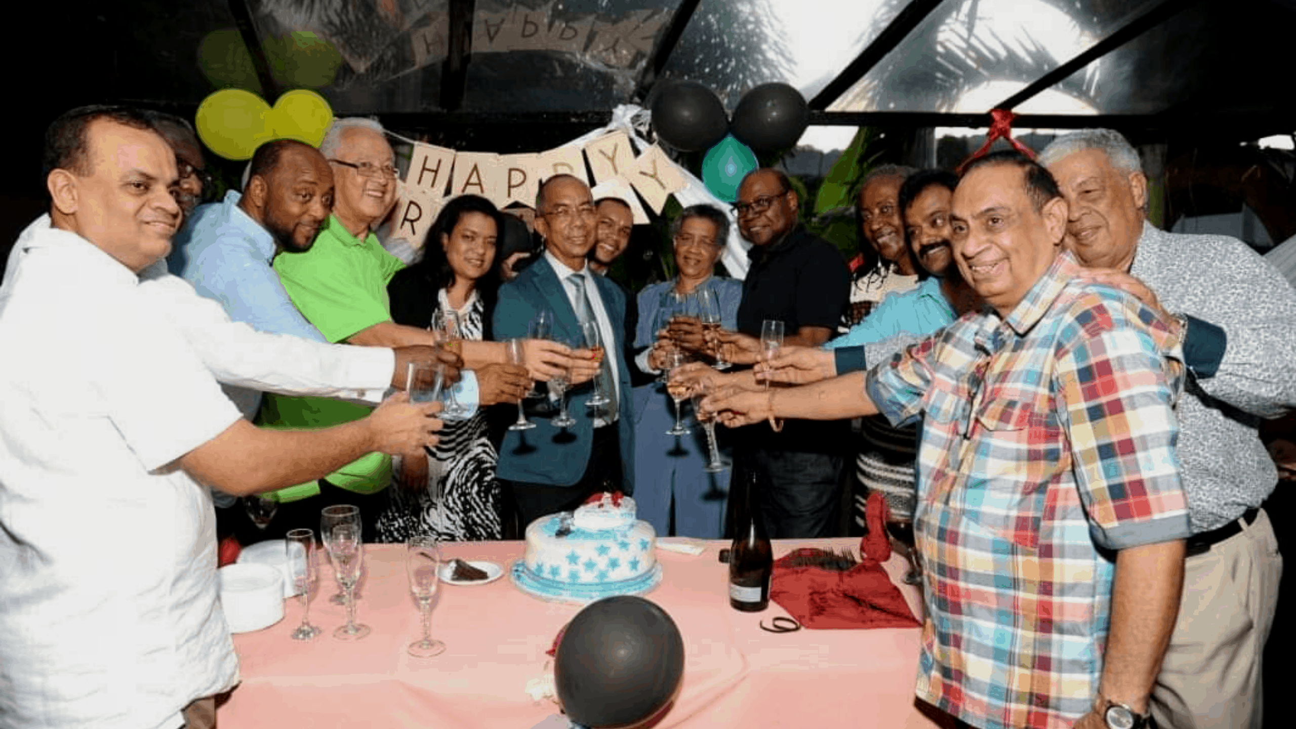 Dr. Horace Chang Honoured in Fine Style