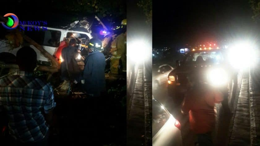 Bus Driver Crashed in Montego Bay