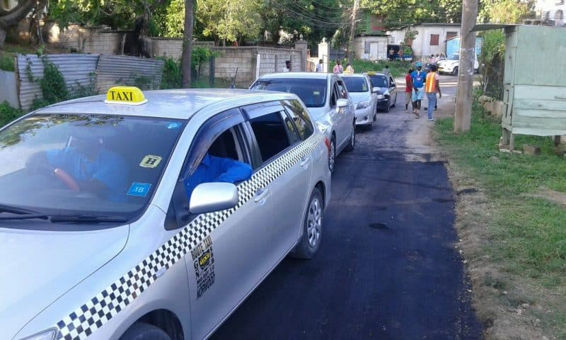 TWO SHOT IN ST JAMES, Taxi in Jamaica