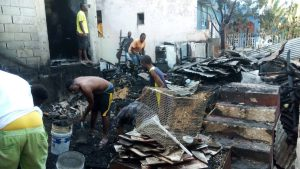 $ 10-MILLION FIRE DESTROYS 8 BEDROOM HOUSE IN MOUNT SALEM, ST JAMES